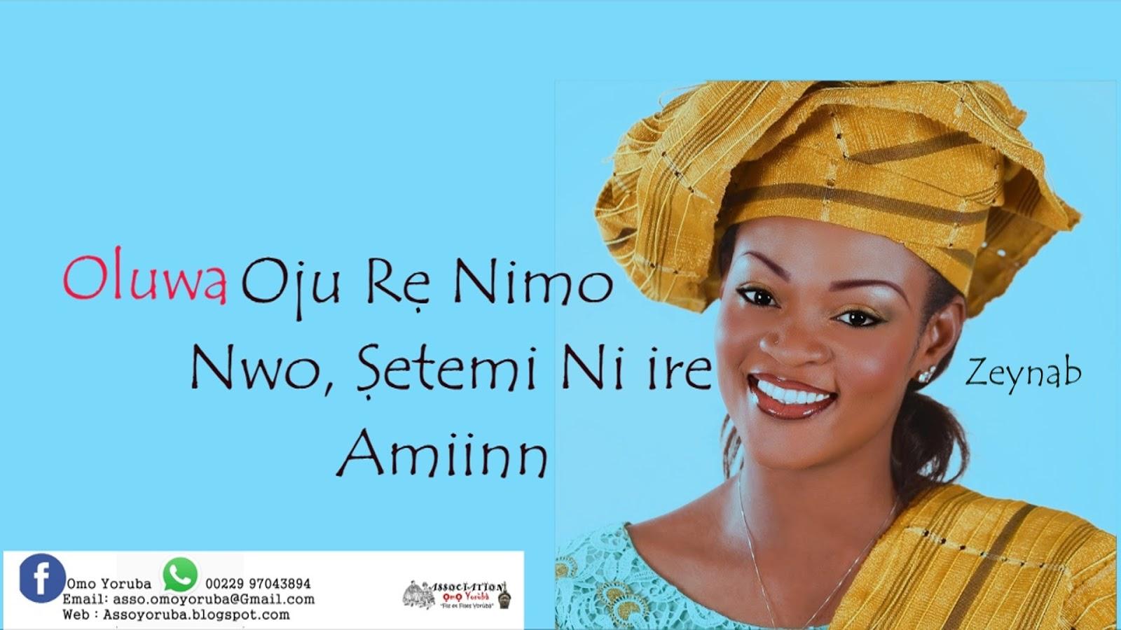 Rencontre un homme Yoruba