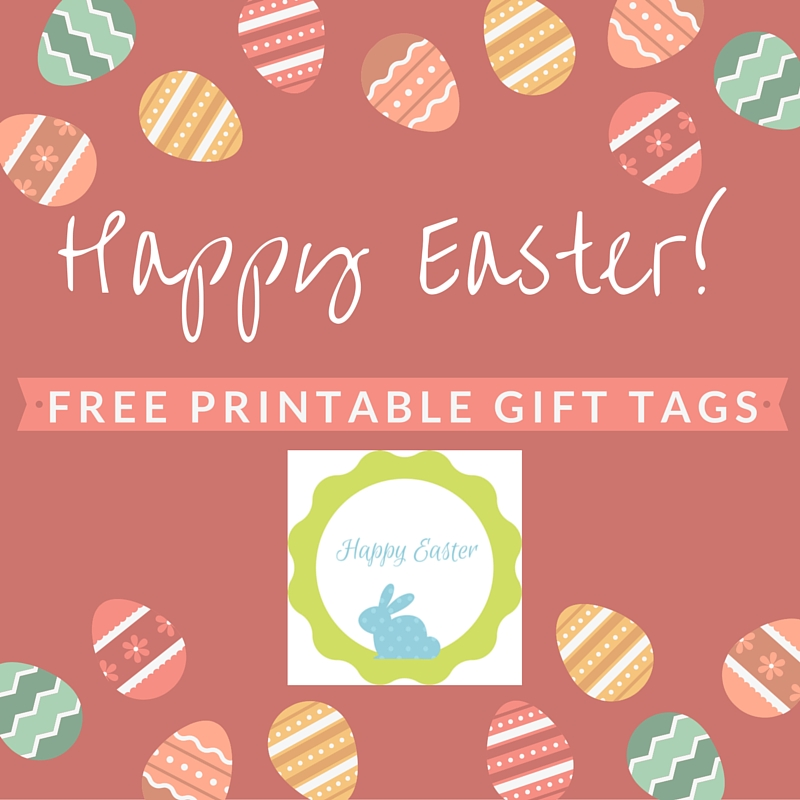 It is a picture of Stupendous Free Printable Easter Gift Tags