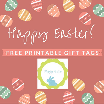 happy easter free printable gift tags
