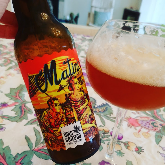 Portugal Craft Beer Review: Matine from Dois Corvos