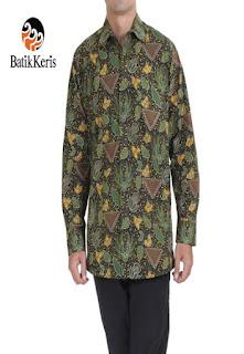 baju batik keris pria