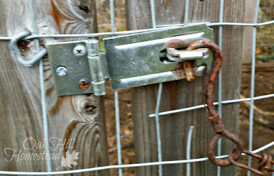 Put secure latches on gates, doors and windows.