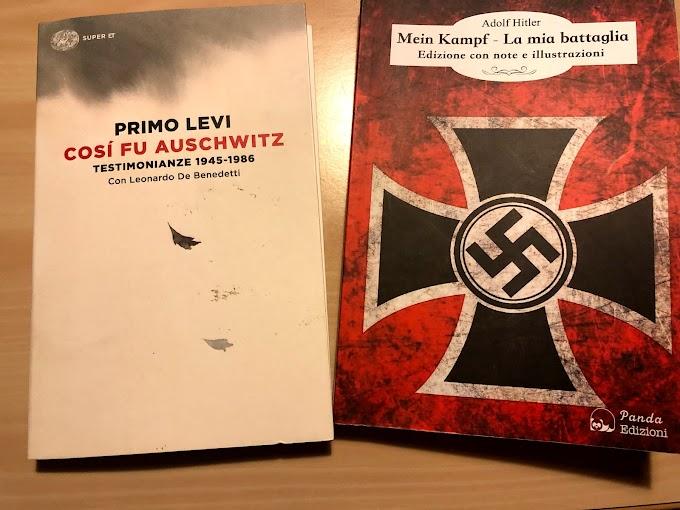 Primo Levi e Adolf Hitler