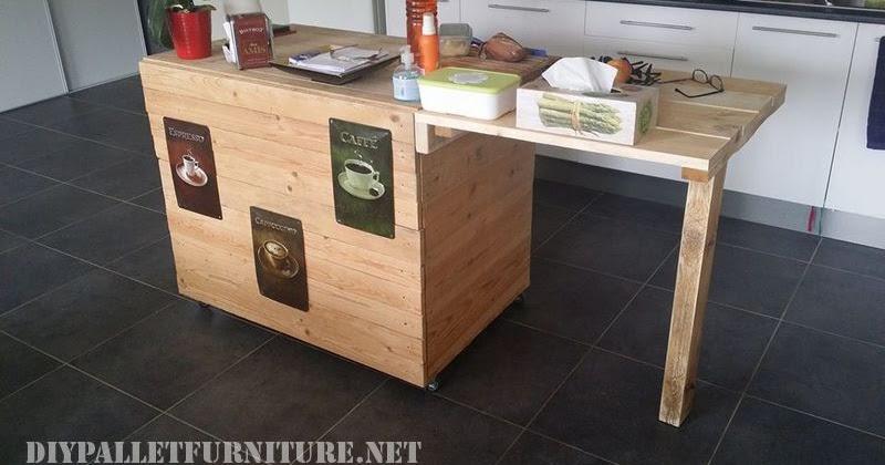 Mueble de cocina auxiliar hecho con for Mueble hecho con palet