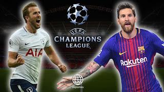مشاهدة مباراة برشلونة وتوتنهام بث مباشر اليوم 3-10-2018 Barcelona vs Tottenham live