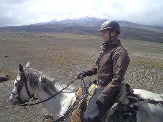 ecuador, ratsastusmatka, riitta reissaa, cotopaxi, Riitta Kosonen