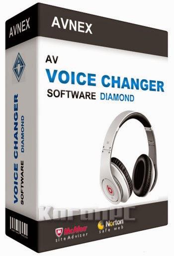 AV Voice Changer Software Diamond 8.0.24 + Crack