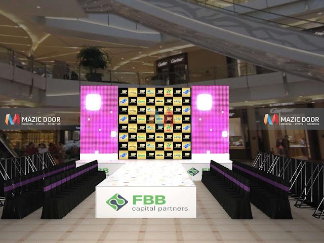 Mall fashion show activity Design 04