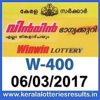 keralalotteriesresults.in/2017/03/06-w-400-win-win-lottery-results-today-kerala-lottery-result