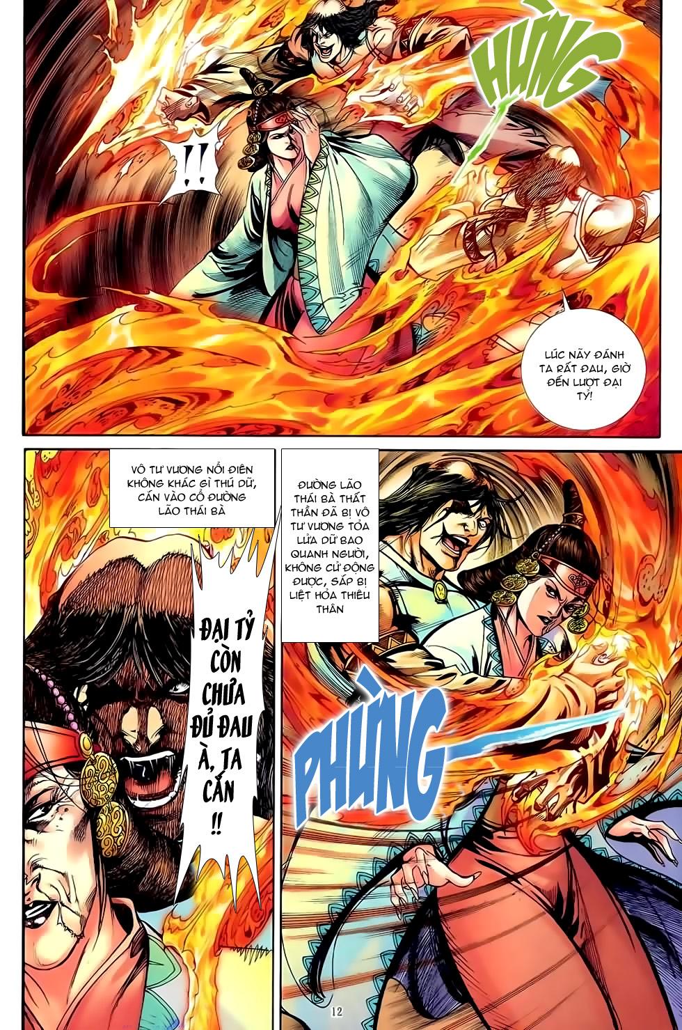 Đại Hiệp Truyền Kỳ (Thần Châu Hậu Truyện) chap 51 - Trang 11