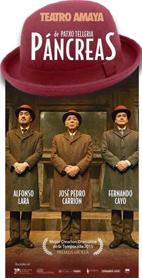 Páncreas, comedia en el Teatro Amaya