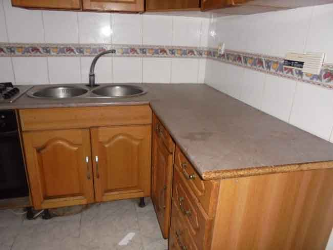 piso en venta calle montornes castellon cocina