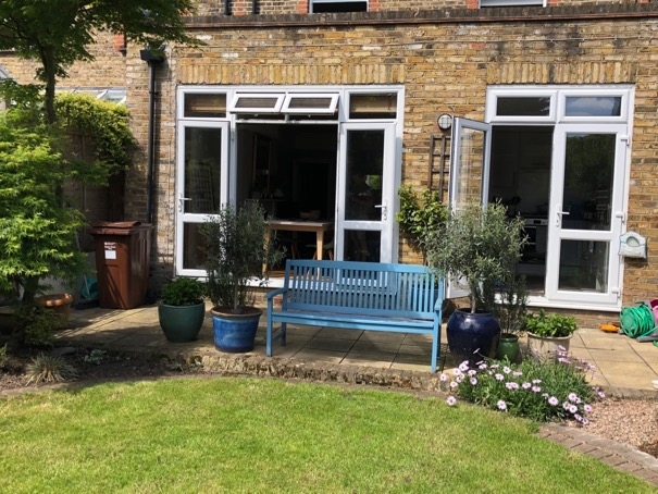 Chiswick flat garden London