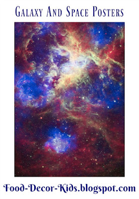 Star, Space, and Galaxy Posters