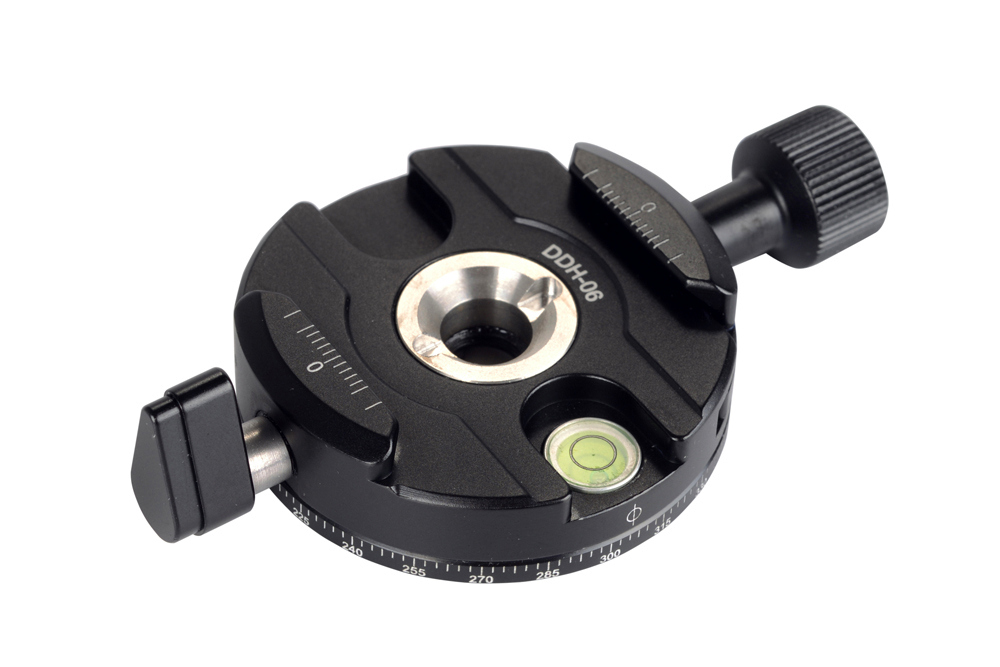 Sunwayfoto DDH-06 Panning Clamp top side view