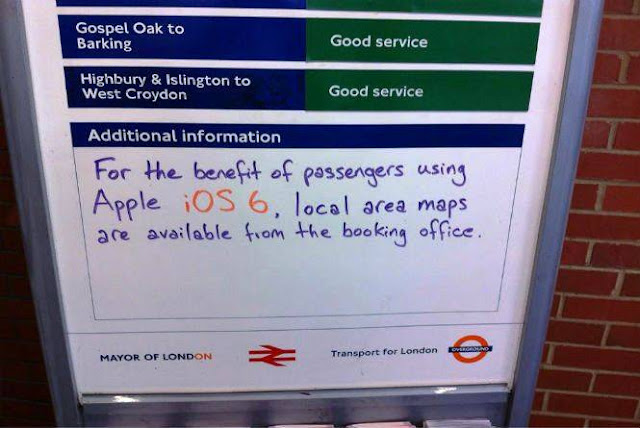 Metro de Londres ajuda os usuários de iOS 6