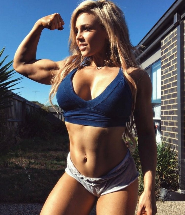 Stephanie Sanzo Australian body