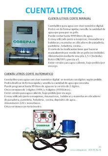 Cuenta Litros Agua Digitales.