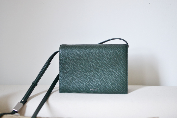 Aritzia Auxiliary Calisch cross body review Celine comparison