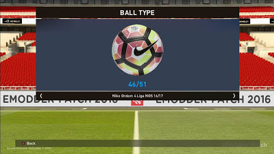 PES 2016 Ballpack Replace V2