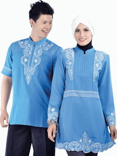 Pakaian muslim couple trendy