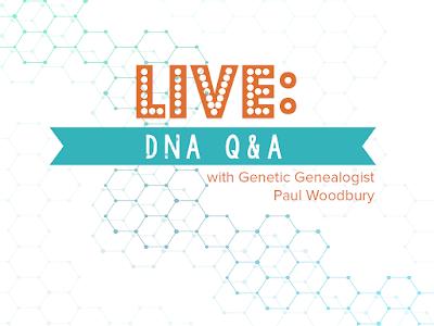 Legacy Tree Genealogists Live DNA Q&A