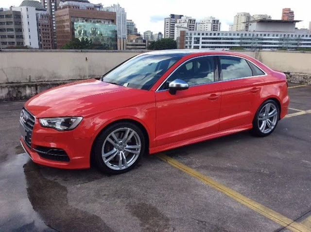 Audi S3 2015 - Leilão da Audi