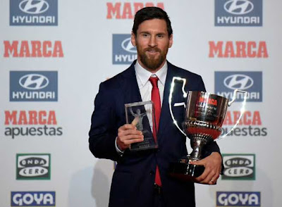 Messi Gets La Liga's Best Player Award