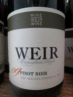 Mike Weir Pinot Noir 2009 - VQA Niagara Peninsula, Ontario, Canada (88+ pts)