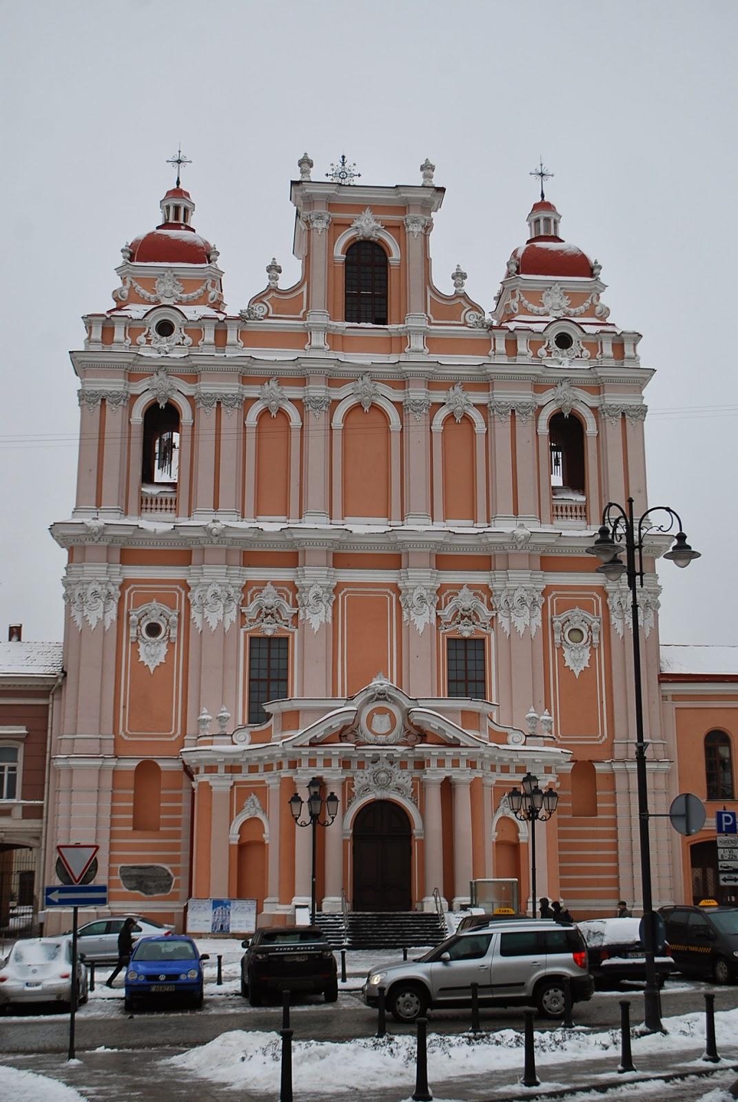 Костел св.Казимира, Вильнюс (st. Casimir's church, Vilnius).