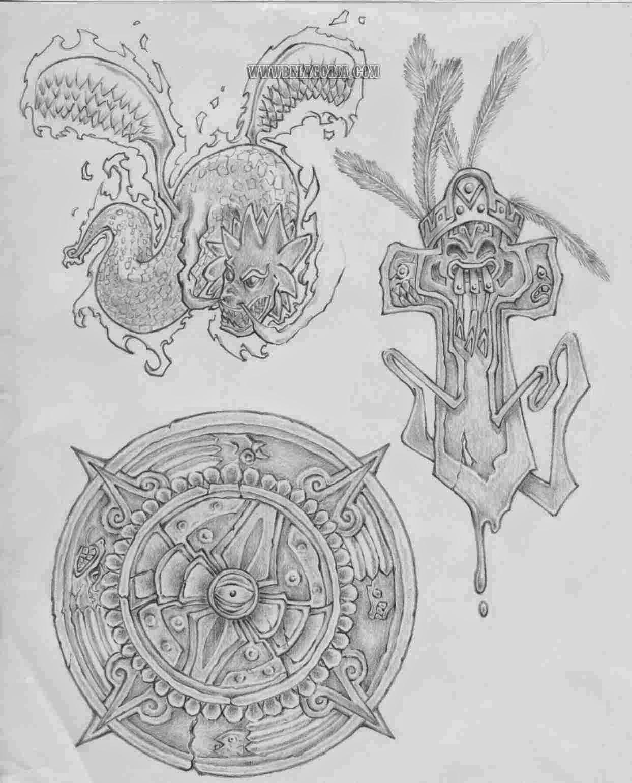Diseños Aztecas Exclusivos Belagoria La Web De Los Tatuajes
