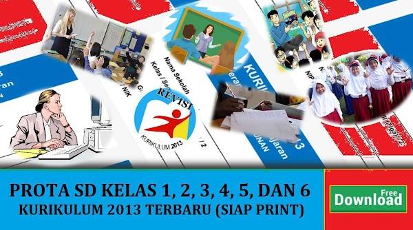PROTA K13: PROGRAM TAHUNAN SD/MI KURIKULUM 2013 REVISI
