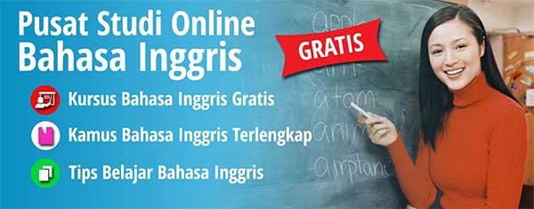 Pusat Kursus Belajar Bahasa Inggris online