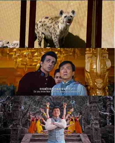 Kung Fu Yoga (2017) Tamil - English 300mb DVDScr