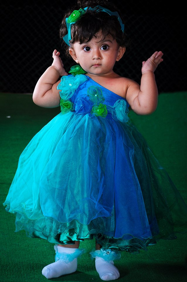 8db3510853f3 Indian Cute girl Baby first birthday jewellery and dress styles ...