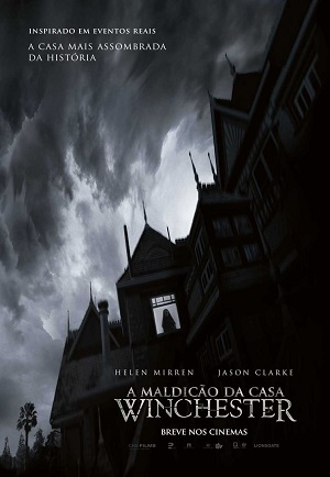 A Maldição da Casa Winchester Blu-Ray Filmes Torrent Download capa