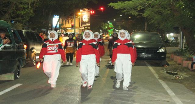 Pemerintah Kabupaten Sumenep Mengadakan Gerak Jalan