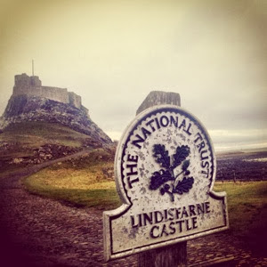 Lindisfarne Castle at Holy Island