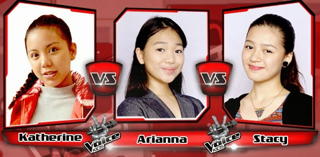 Stacy Won Over Arianna and Katherine on The Sing-offs for The Voice Kids Philippines