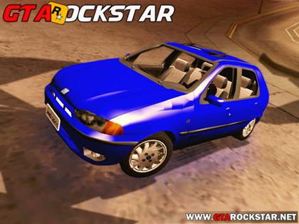 GTA SA - Pack com 5 Carros Leves na FIXA