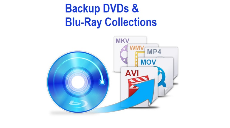Backup DVDs and Blu-Ray Collections