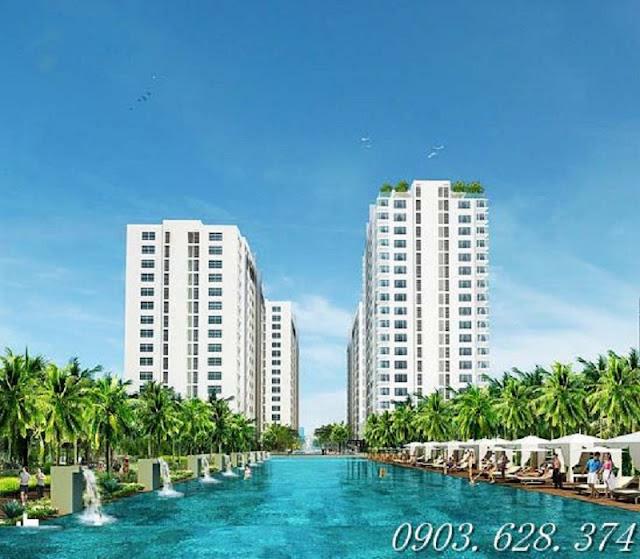 Căn hộ resort ven sông Sài Gòn, trả góp mỗi tháng 1 m2