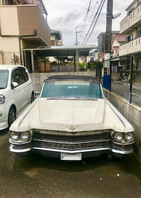 (Post-op mini) Jalan Jalan(s) (86): You don t see many Cadillacs in Japan - here s one in the neighborhood...