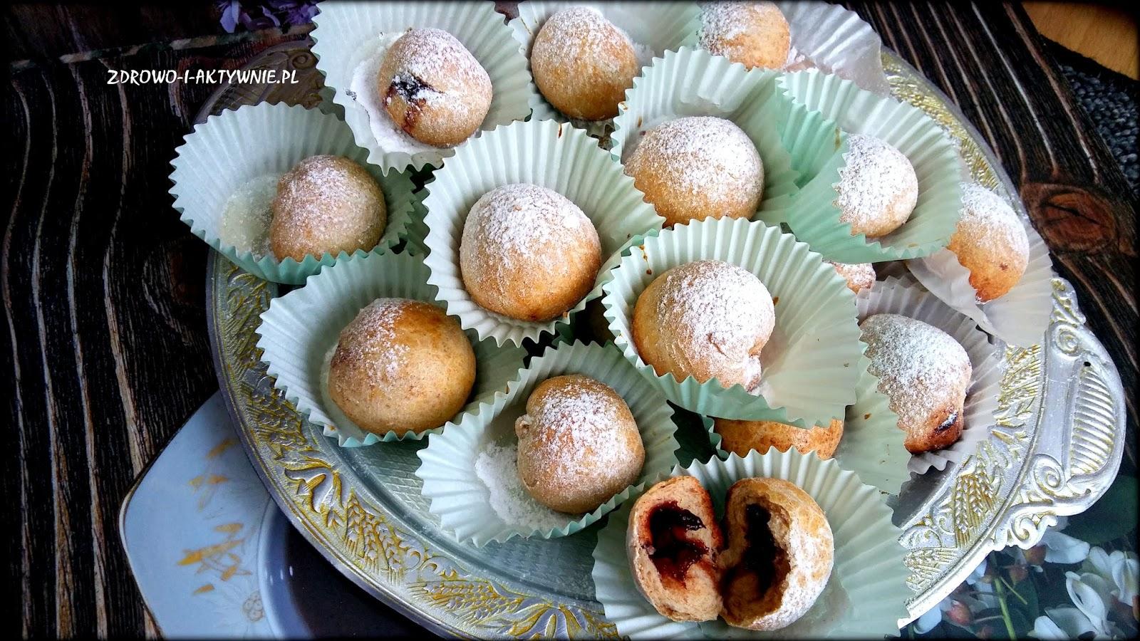 Zdrowe mini pączki z piekarnika