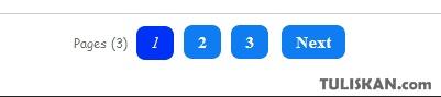 Membuat Navigasi Nomor Halaman / Page Number Blog