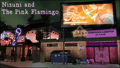 My Sims 3 Blog Nizuni Sushi Karaoke Bar And The Pink