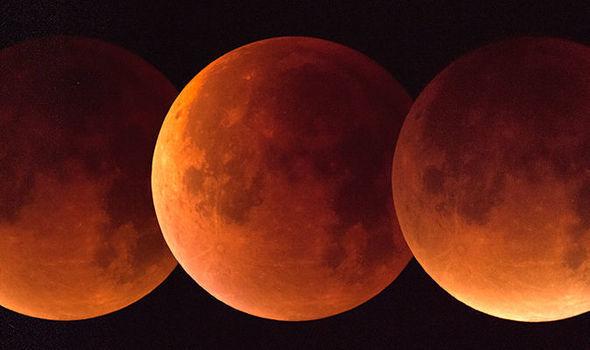 Lunar eclipse, eclipse in 2018