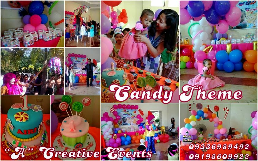 Candyland Theme or Candy Theme Party
