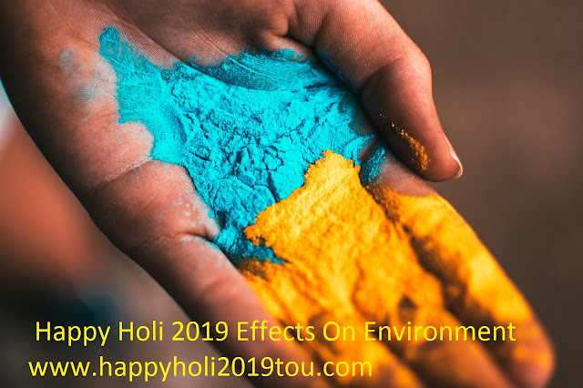 Happy Holi 2019 Effects On Environment