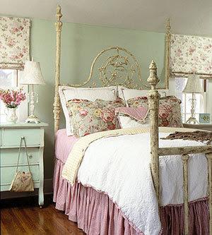 innenarchitektur design VintageStil Schlafzimmer